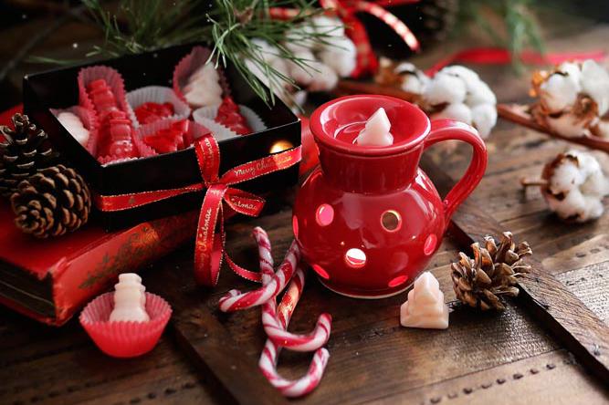 Декоративна свещ за арома лампа Christmas Aromabon