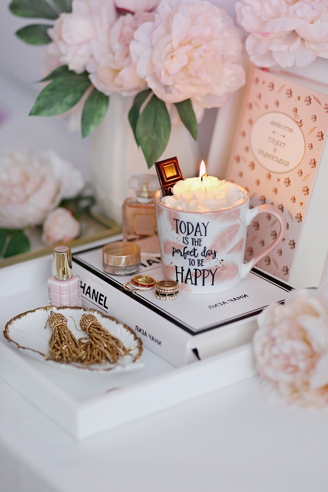 Декоративна свещ Perfect Day