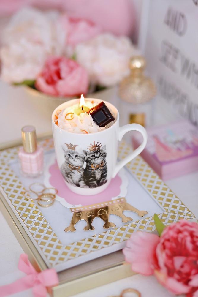 Декоративна свещ Cat Lover